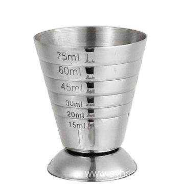 2.5oz Bar Measurements double jigger wine measuring cup