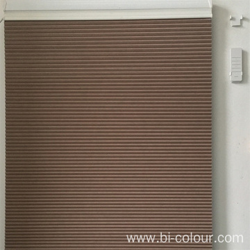 Cordless Power Window Honeycomb Cellular Shades