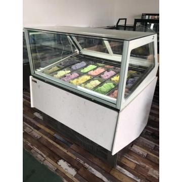 ice cream dipping cabinet gelato dipping cabinet