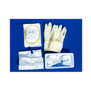 Disposable sterile catheterization kit