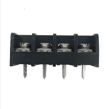 9.5mm pitch PCB black barrier terminal block connector