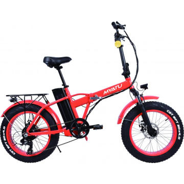 20inch Fat Tire Foldable Electric Bicycle
