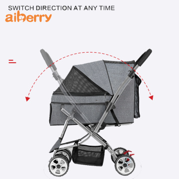 Best Soft Oxfrod Carrier Pet Trolley Stroller