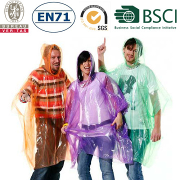 Export  Environmental protection rain poncho