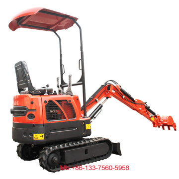 Rhinoceros mini digger 0.8ton small excavator review