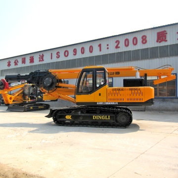 Construction equipment ground boring machine