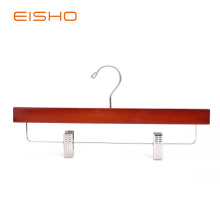 EISHO Adult Walnut Bottom Hanger With Clips