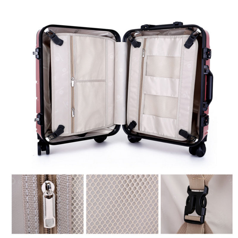 Polyester fibre trolley bag