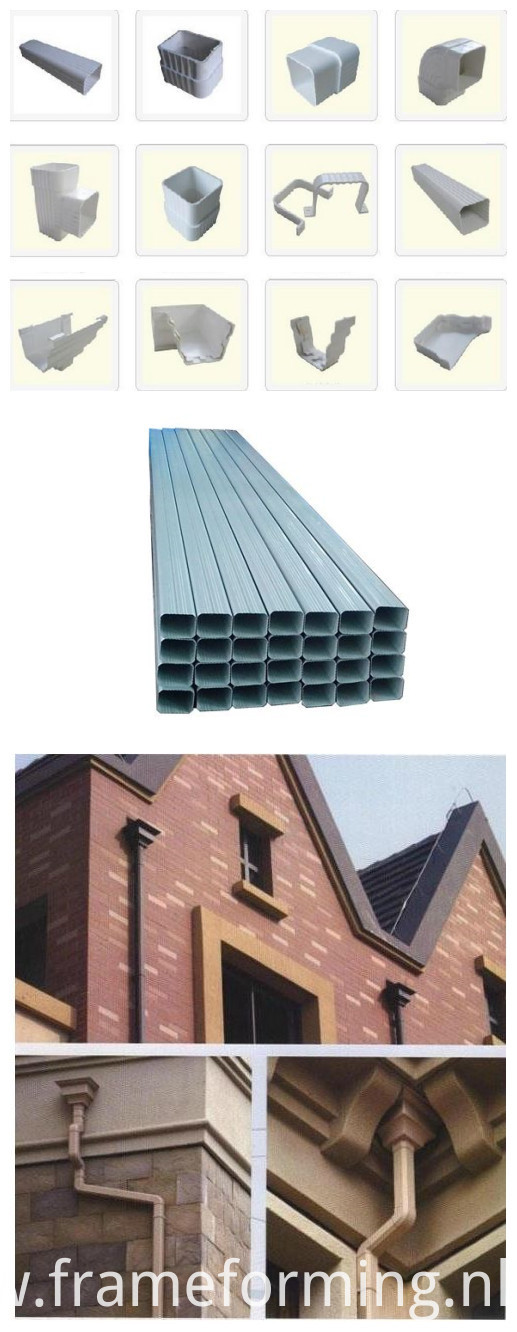 gutter pipe usage