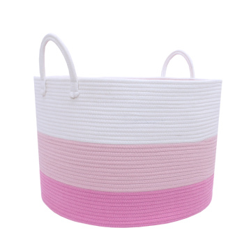 Multi-Function Cotton Laundry Basket Storage Organizer