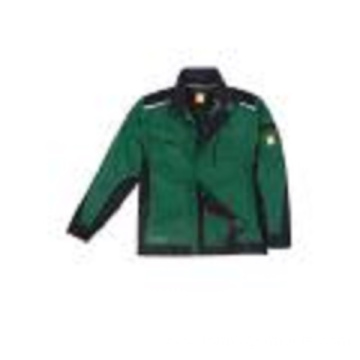 Men's Green Classic Zip Side Pockets Track Jacket