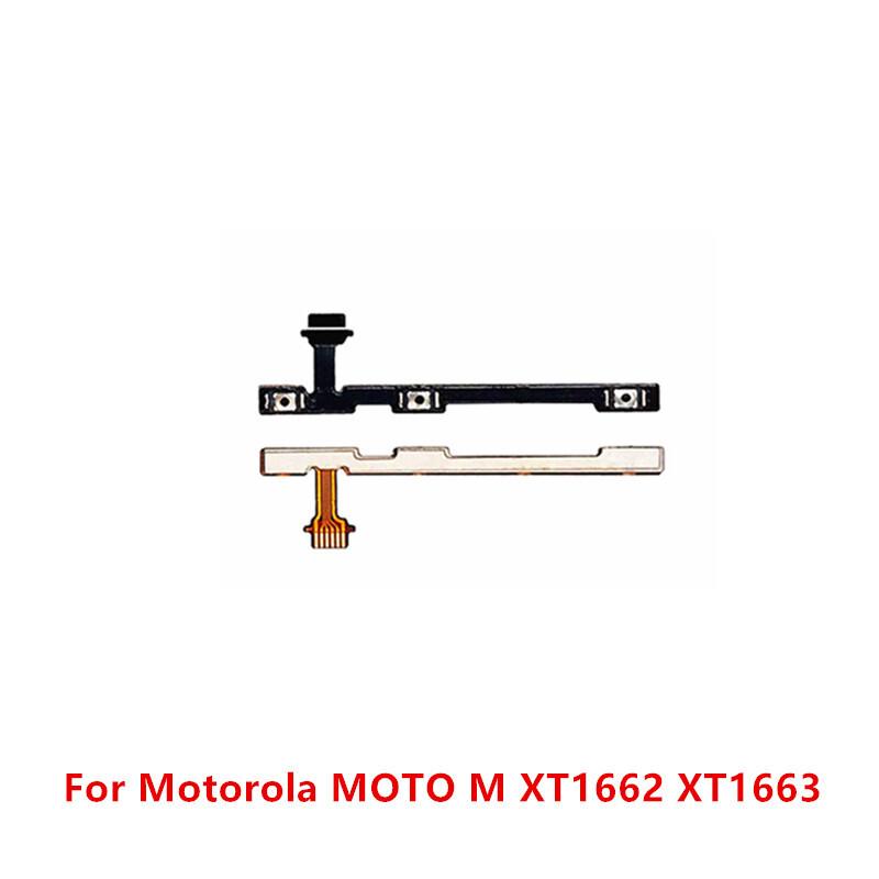 Power On Off Button Volume Switch Key Control Flex Cable Ribbon FPC For Motorola MOTO M XT1662 XT1663