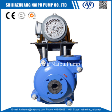 25ZJR Low Flow Neoprene Rubber Lining Slurry Pump