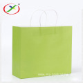 Wholesale Luxury Fashion kraft paper bag with handle