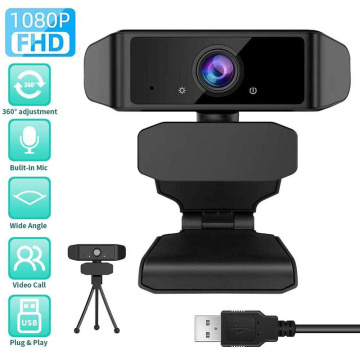 1080P High Speed Webcam With Microphone Rotatable Auto Focus Web Camera For Live Broadcast Video Conference Recording Work