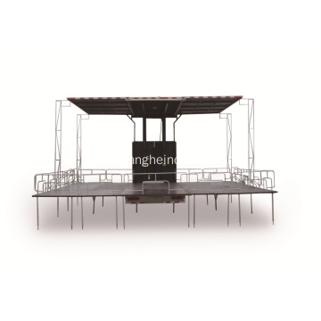 Mobile Stage Truck (Three Sides Open)