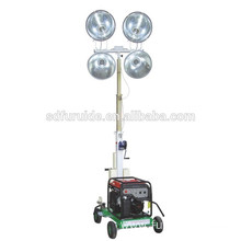 hot sale mobile high mast lighting tower with diesel engine
