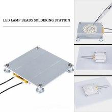 70x70mm LED Lamp Remover BGA Demolition Chip Welding Soldering Station Aluminum PTC IP20 Heating Plate 300W 260 Degree