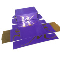 Double Side Printing Gold Paper Corrugated Paper Box