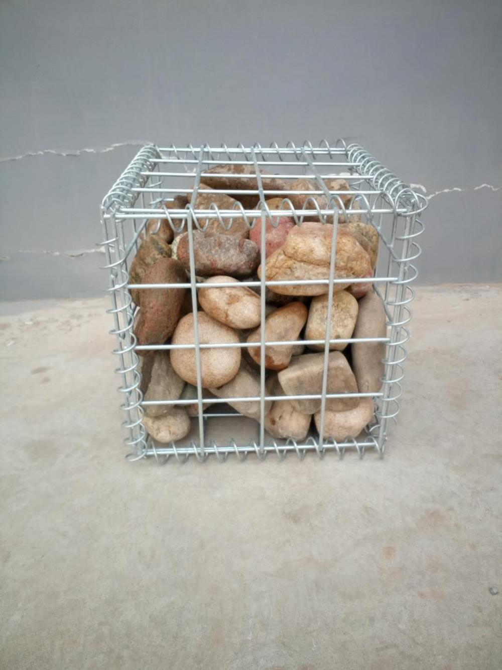 Welded Wire Mesh Gabion Box for River Protection