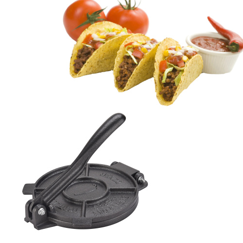 6.5 Inch Cast Iron Manual Tortilla Maker Press