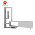 White Furniture Wooden TV Stand Wall Units Designs
