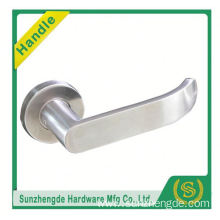 SZD STLH-001 China Supplier Usa Curved Lever On Rose Stainless Steel Door Handle