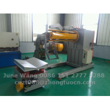 hydraulic decoiler with loading car used for machine