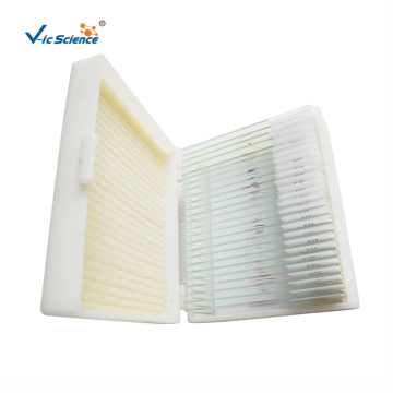 25 Pcs Glass Biology Prepared Slides