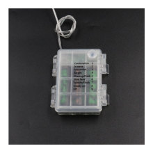 Patent Transparent Waterproof 3AA Battery Holder