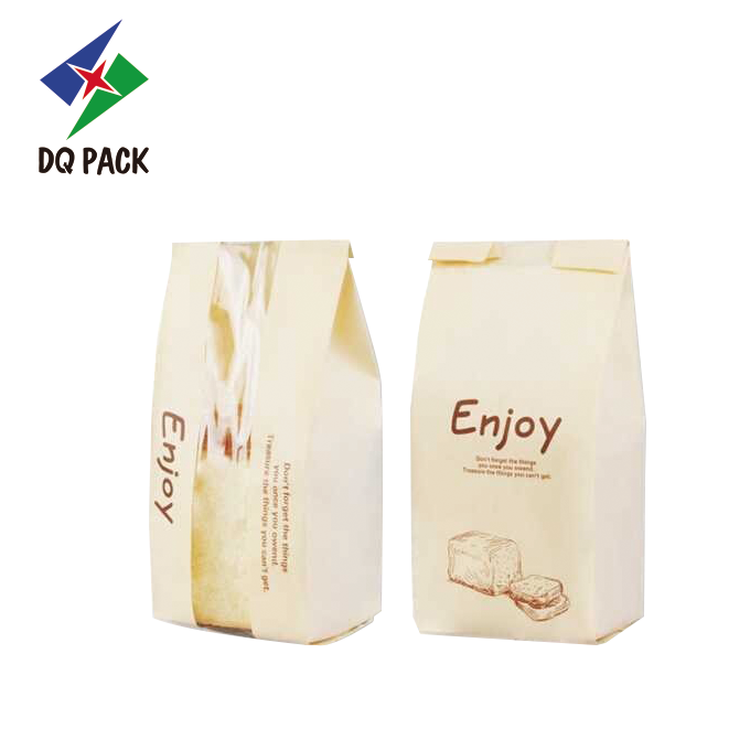 Toast Bread Bag Kraft Paper Bag