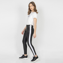 Tight Black Fashion Outer Wear Trousers