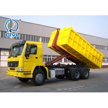 6x4 RHD Hook Lift Garbage Truck