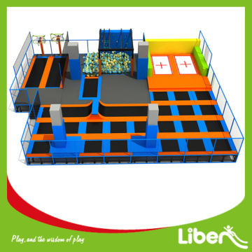 Kids indoor equipment commercial trampoline park