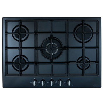 Glass CDA Hobs 5 Burners