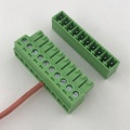 3.5mm Pitch PCB mount 10 way terminal block