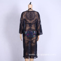 crochet anti-UV clothing women long beach dress