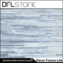 Grey Quartz Water Flow Natural Stone Paneling