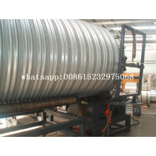large corrugated steel pipe making machine