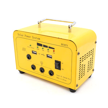 Portable DC Soalr Generation System with Battery