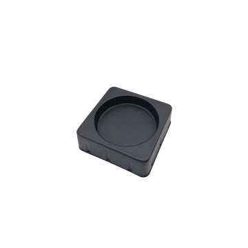 OEM design small black PP blister trays packaging