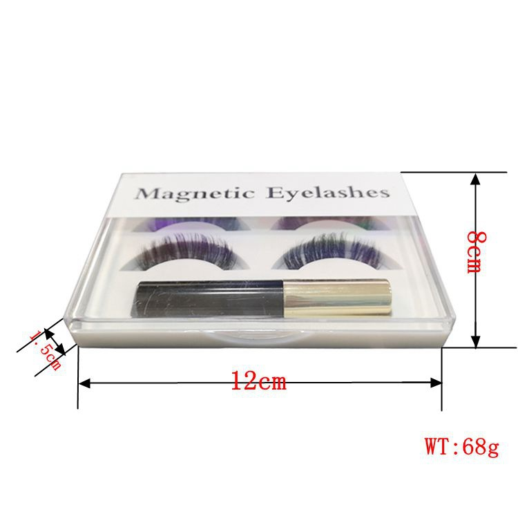Waterproof eyeliner magnetic eyelashes