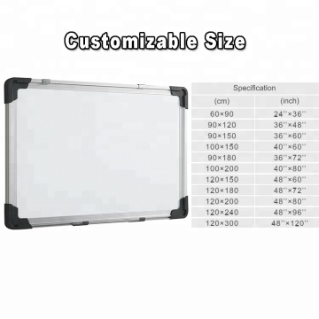 2019 Most Popular Aluminum Frame Magnetic WhiteBoard