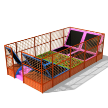 Customized Indoor Trampoline Park Jumping Area