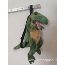 Plush soft dinosaur bag