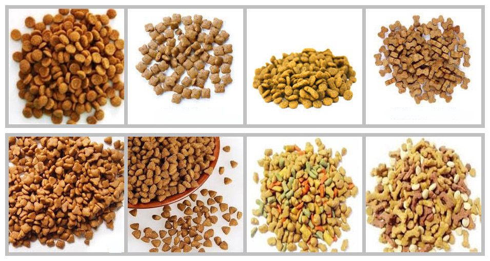 Dog food processing plant dog feed machine