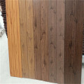 PU foam insulation decorative wood wall paneling