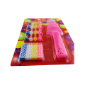 Birthday Cake Candles Set With Holder Plastic Knife