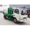 VENDA QUENTE Dongfeng 4cbm multi side loader truck