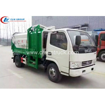 HOT SALE Dongfeng 4cbm multi side loader truck